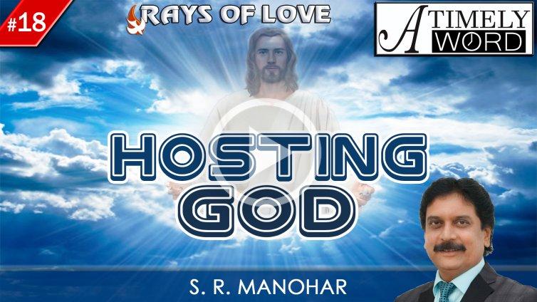 TW18 – Hosting God