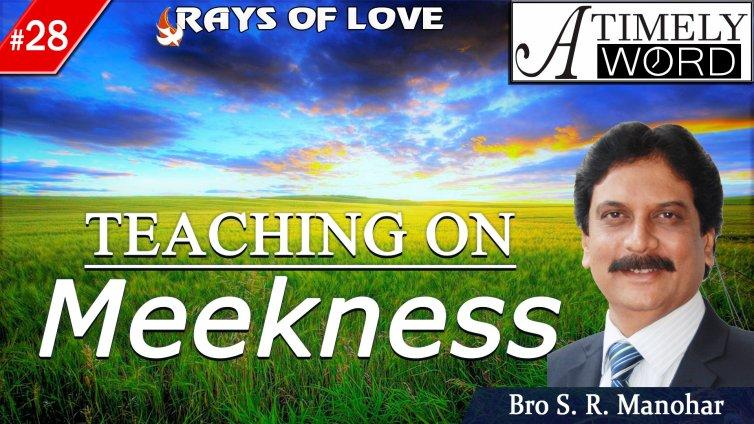 TW28| Teaching on Meekness