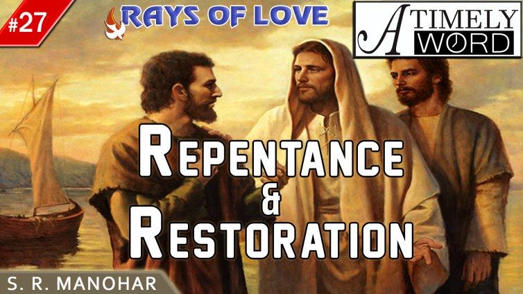 TW27| Repentance & Restoration