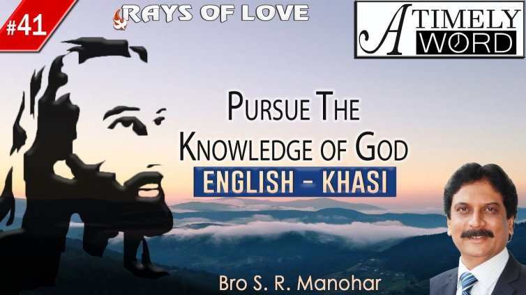 TW41| Pursue the Knowledge of God